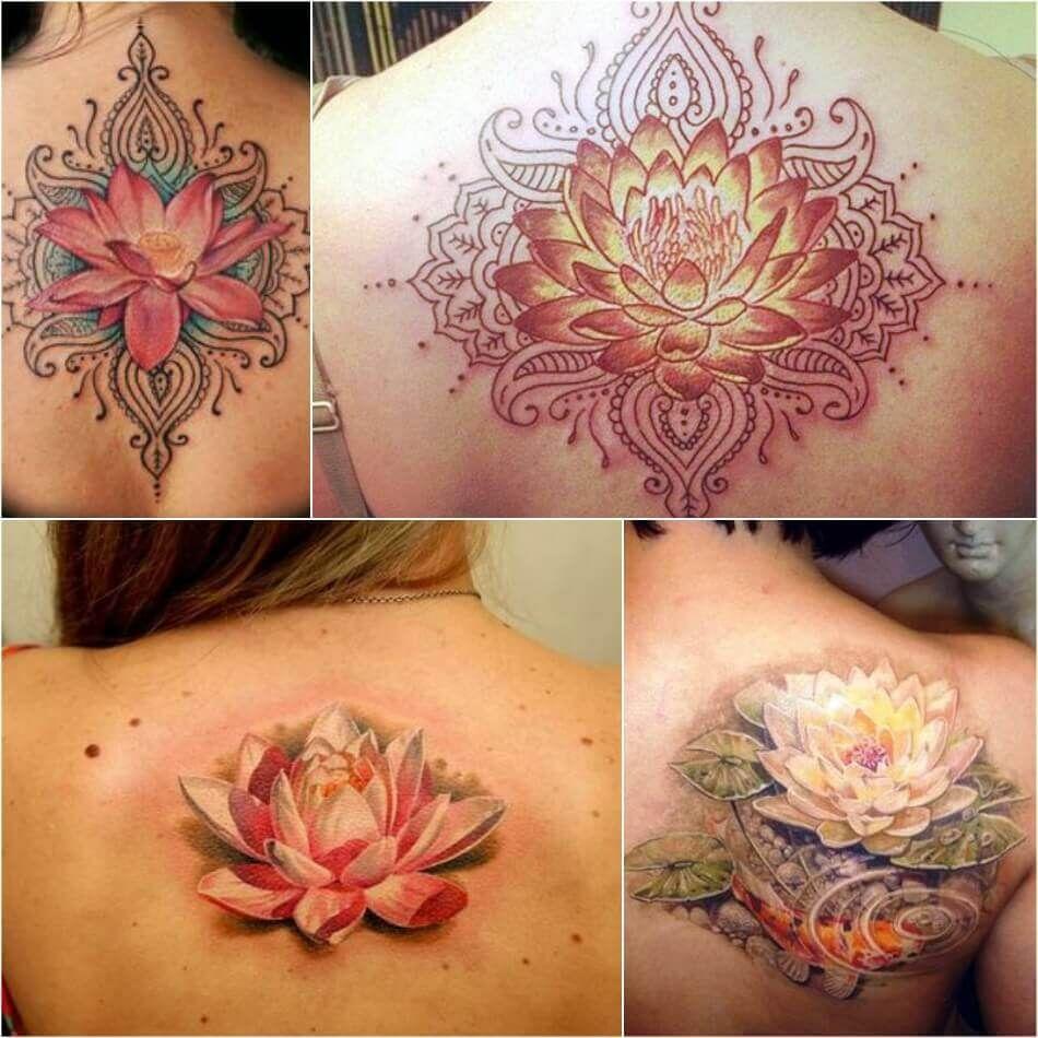 Lotus Flower Tattoo Female Lotus Tattoos Designs with