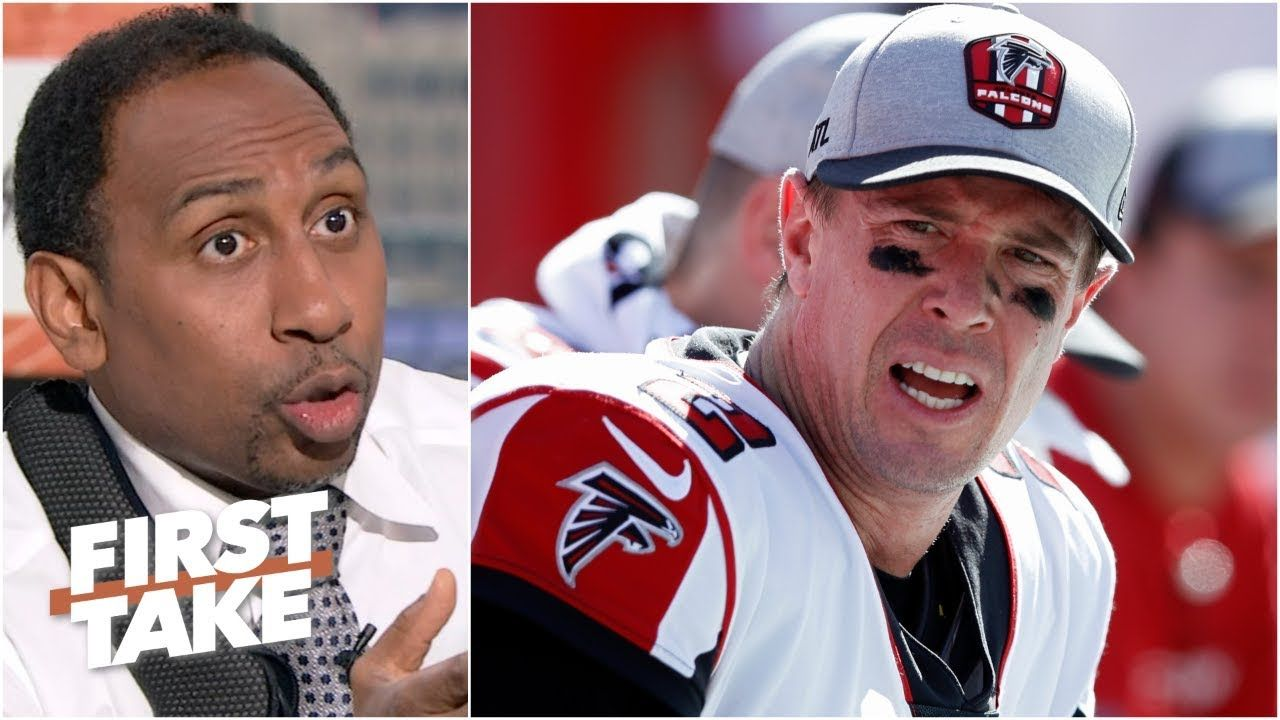 Matt Ryan Faces More Pressure Than Cam Newton This Season Stephen A First Take Matt Ryan Basketball News Cam Newton