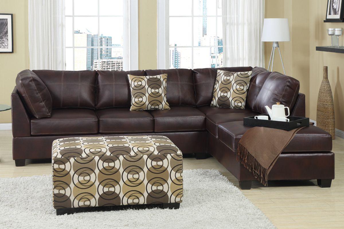 Komfort Sitz mit Leder Sectional Sofa Das wichtigste für