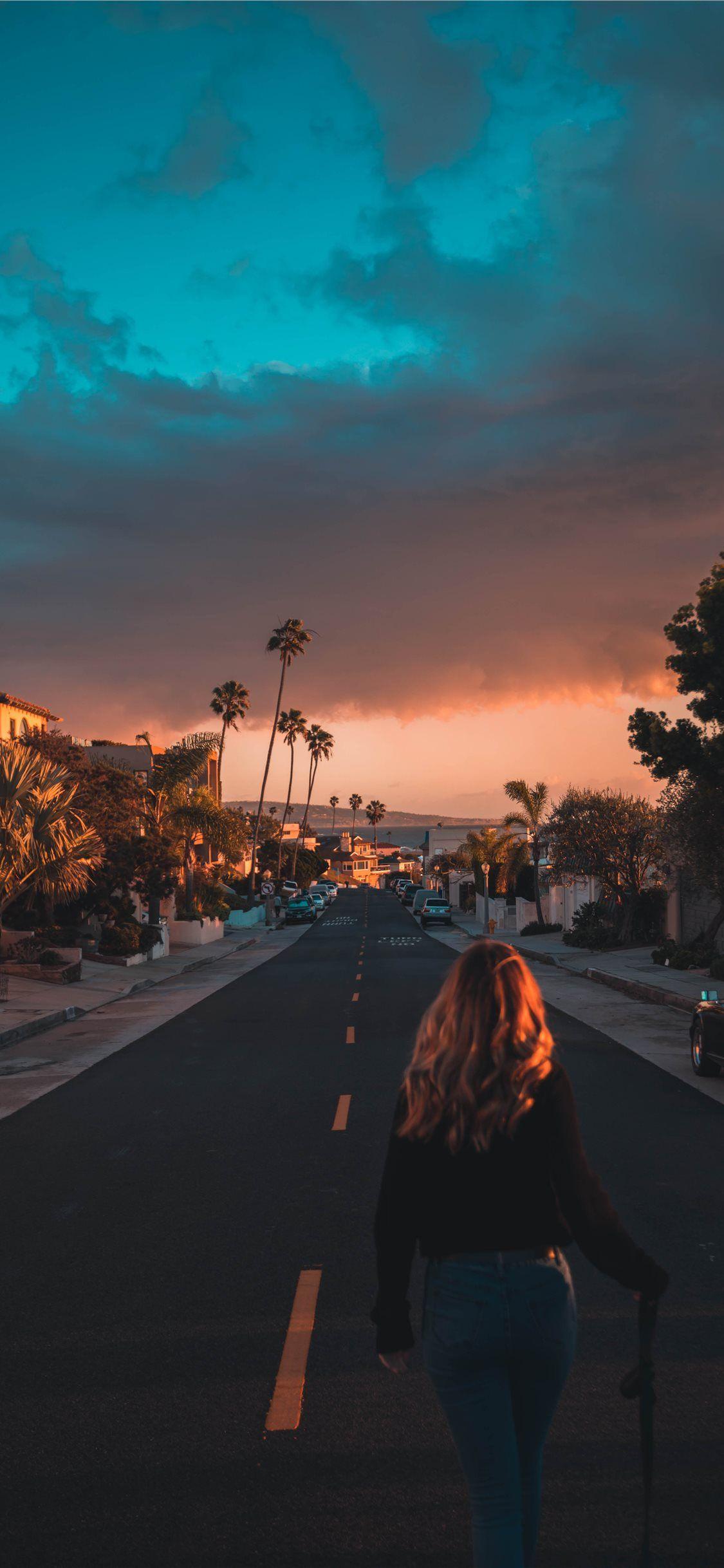Golden Glows in California iPhone X Wallpapers in 2020