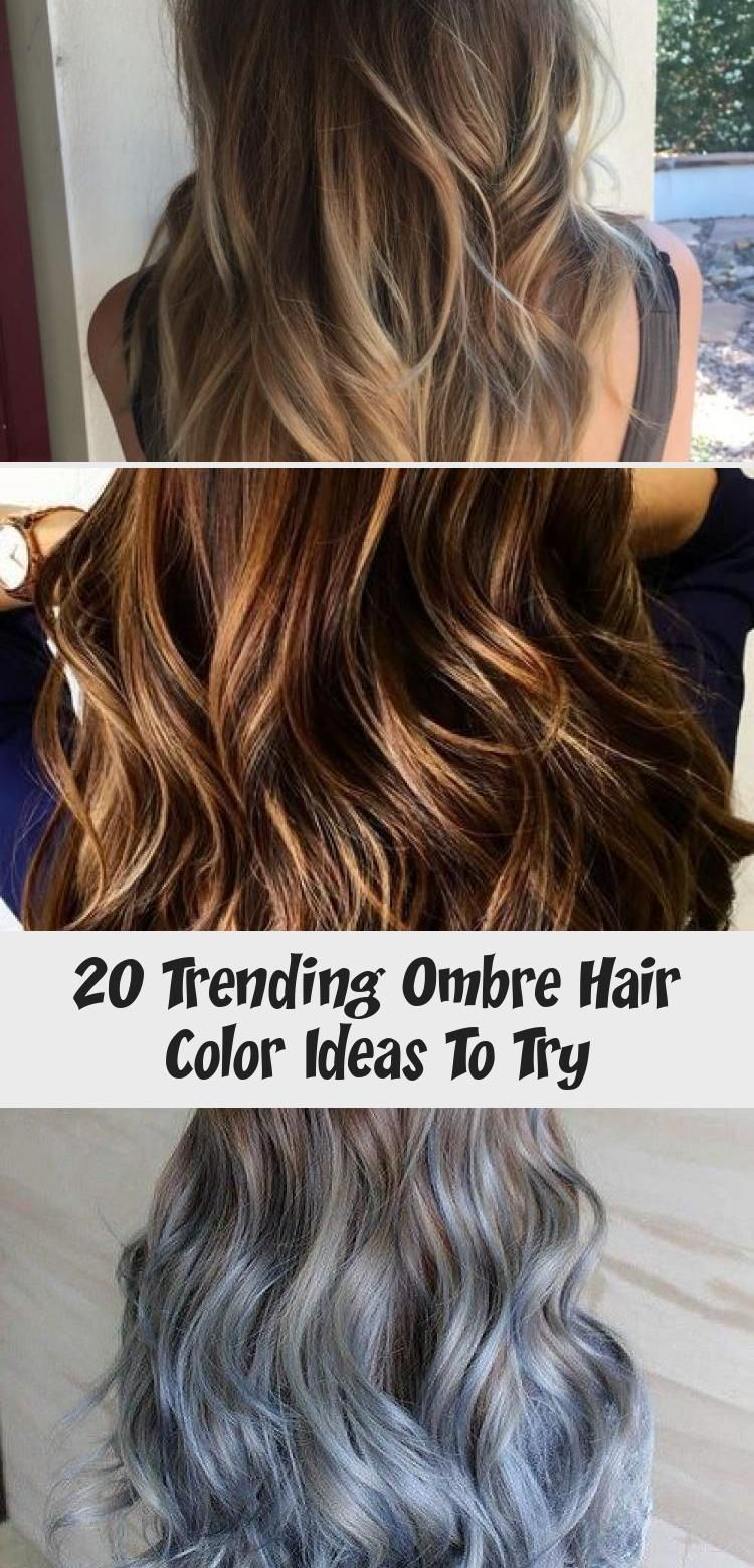 20 Trending Ombre Hair Color Ideas To Try | Ombre hair ...