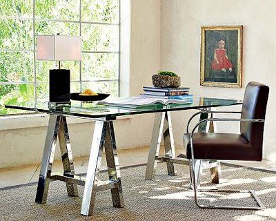 Guess How Much It Cost To Make This Table Desks Glass Table And Glass