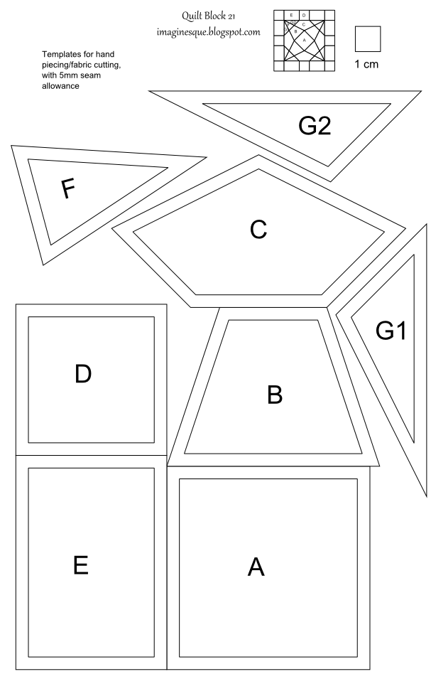Imaginesque Free Quilt Block Templates And Patterns