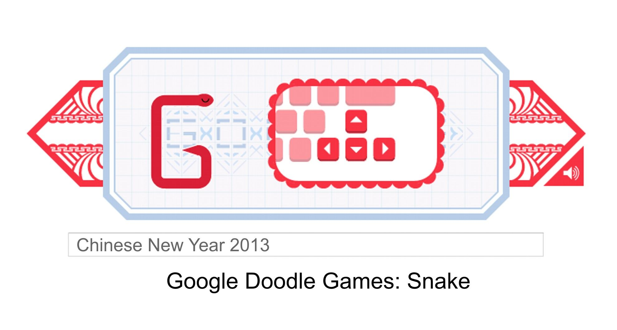 Google Games for Chinese New Year 2013 Google doodle