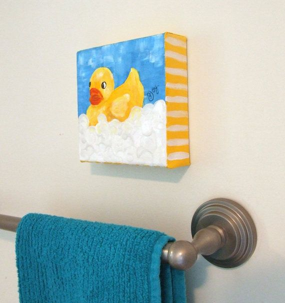 Rubber Duck Bubble Bath. I Call This Bathroom Decor :)