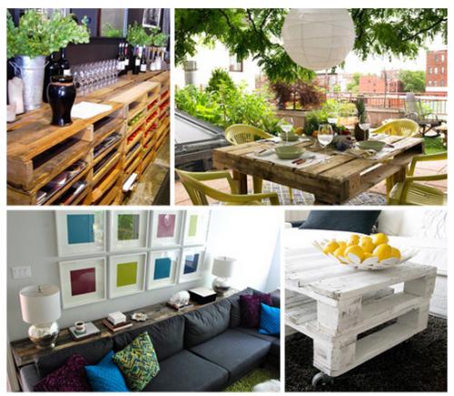 Muebles con palets Ideas para el hogar Pinterest Palets