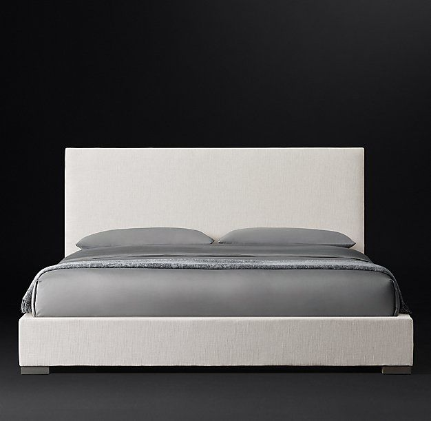 Best Modena Nontufted Panel Fabric Platform Bed Platform Bed 400 x 300