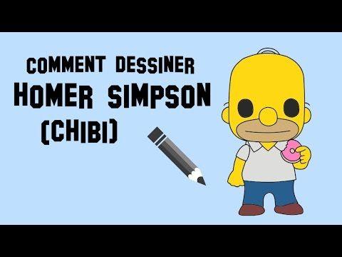 Comment dessiner homer simpson en entier chibi youtube chibi pinterest dessin jeux et - Comment dessiner les simpson ...