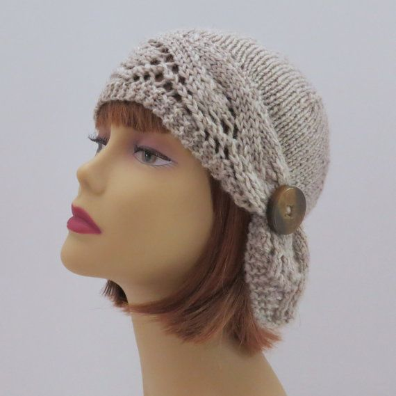 PDF 227 Knitting Hat Pattern Adelaide Downton por WomanOnTheWater ...