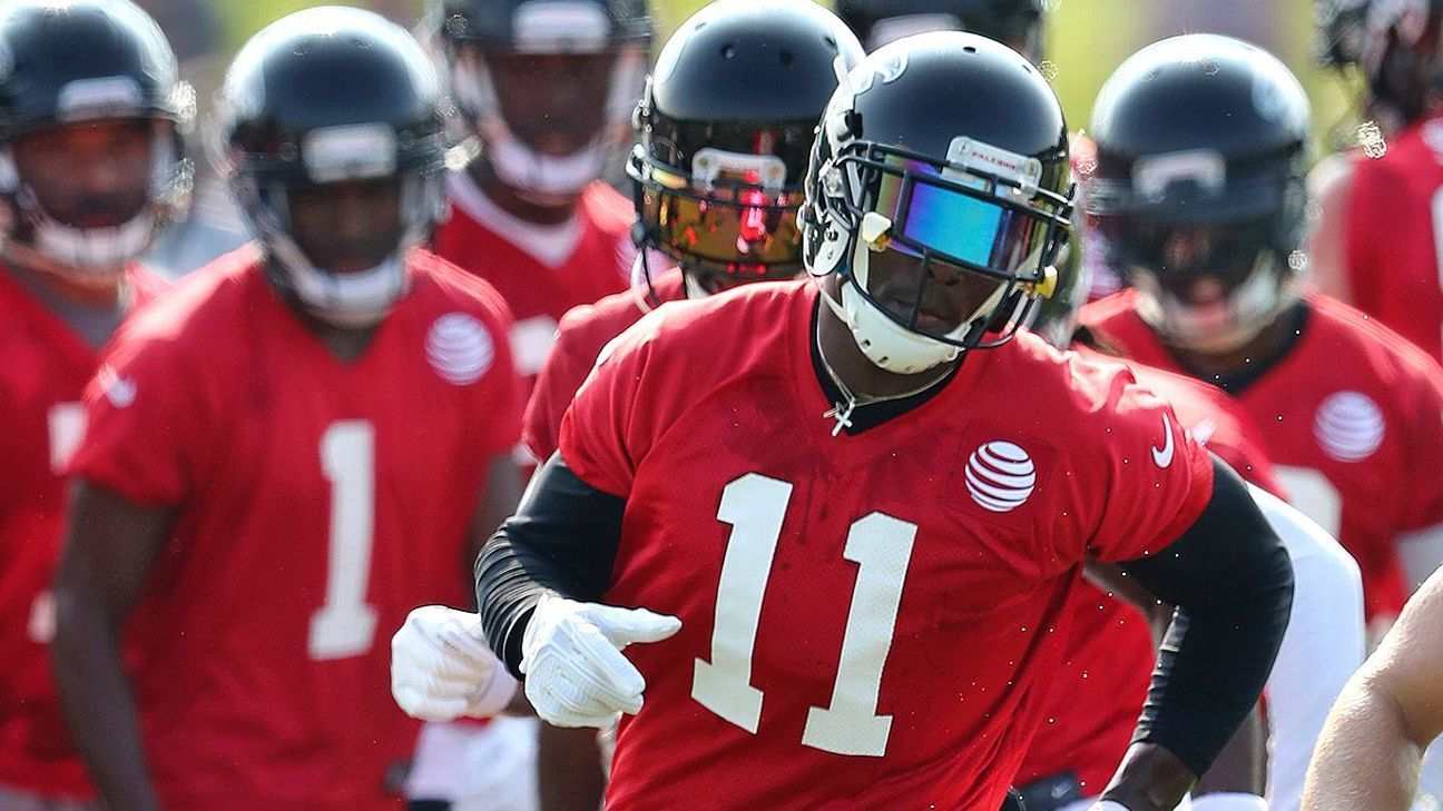 Scary Thought Julio Jones Believes He Can Take Game To Another Level Julio Jones Jones Red Zone
