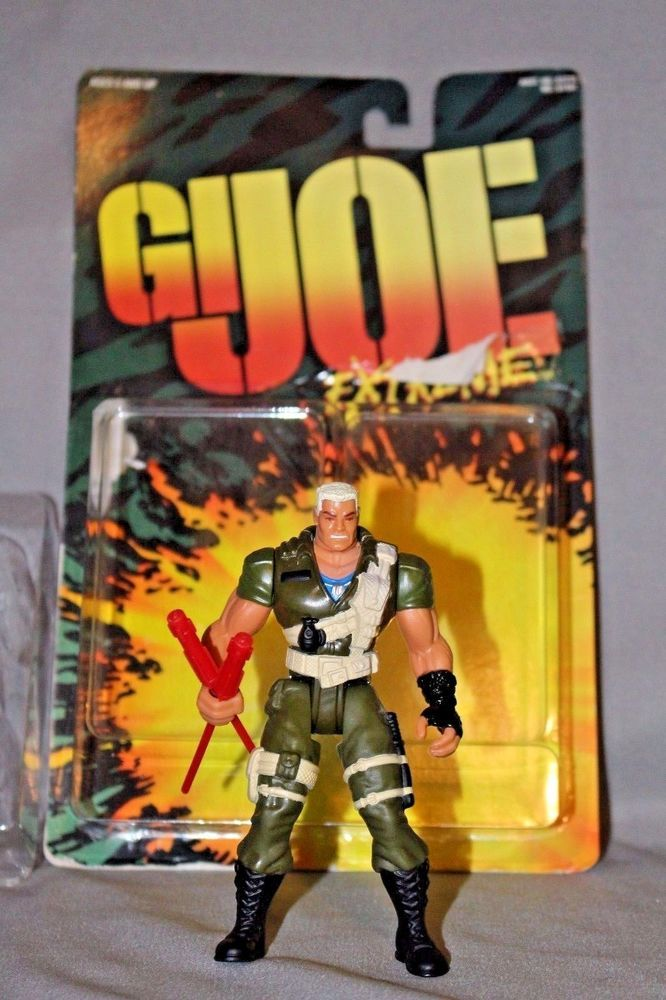 1995 G.I Action Figure by Hasbro Basic Series Joe Extreme Lt Stone