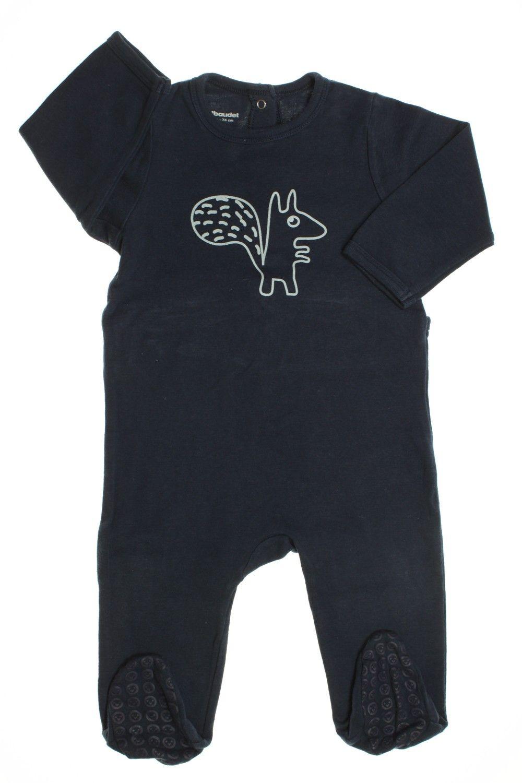 73e78bd550754 Pyjama Dors-bien en coton Ecureuil - 5E Choses De Bébé