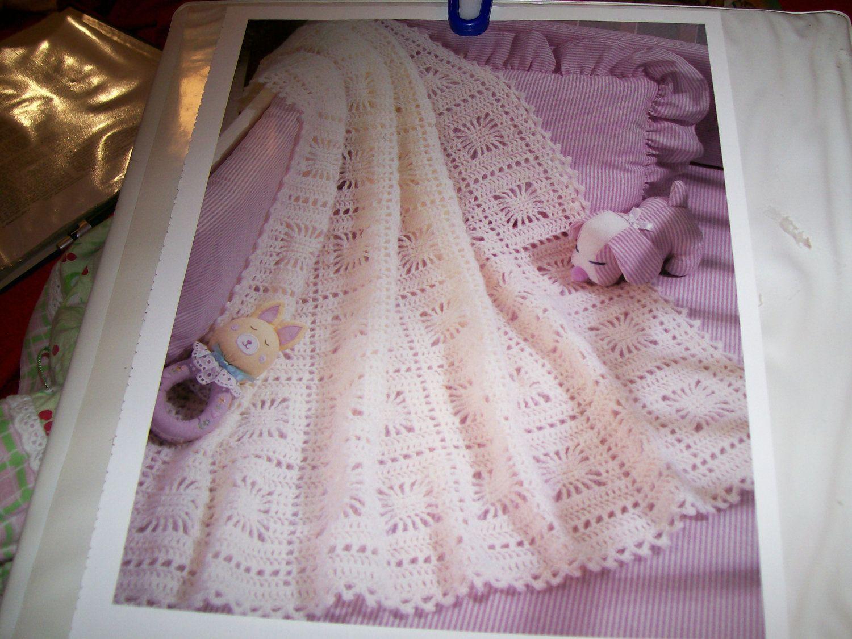 Itsy Bitsy Spiderweb Hand Crocheted Baby Blanket Pattern. | вязаные ...