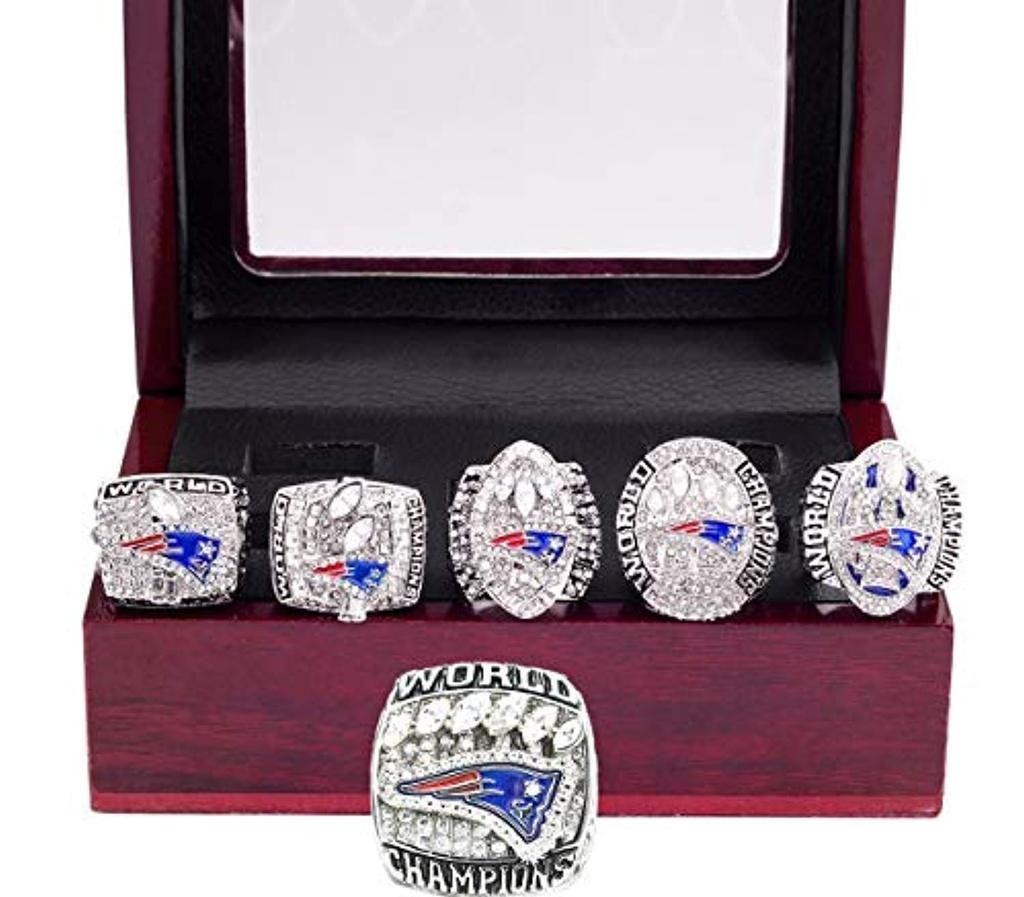 Pre Sale New England Patriots 2002 2004 2005 2015 2017 2019 Championship Replica Rings Super Bowl Rings Patriots Superbowl New England Patriots