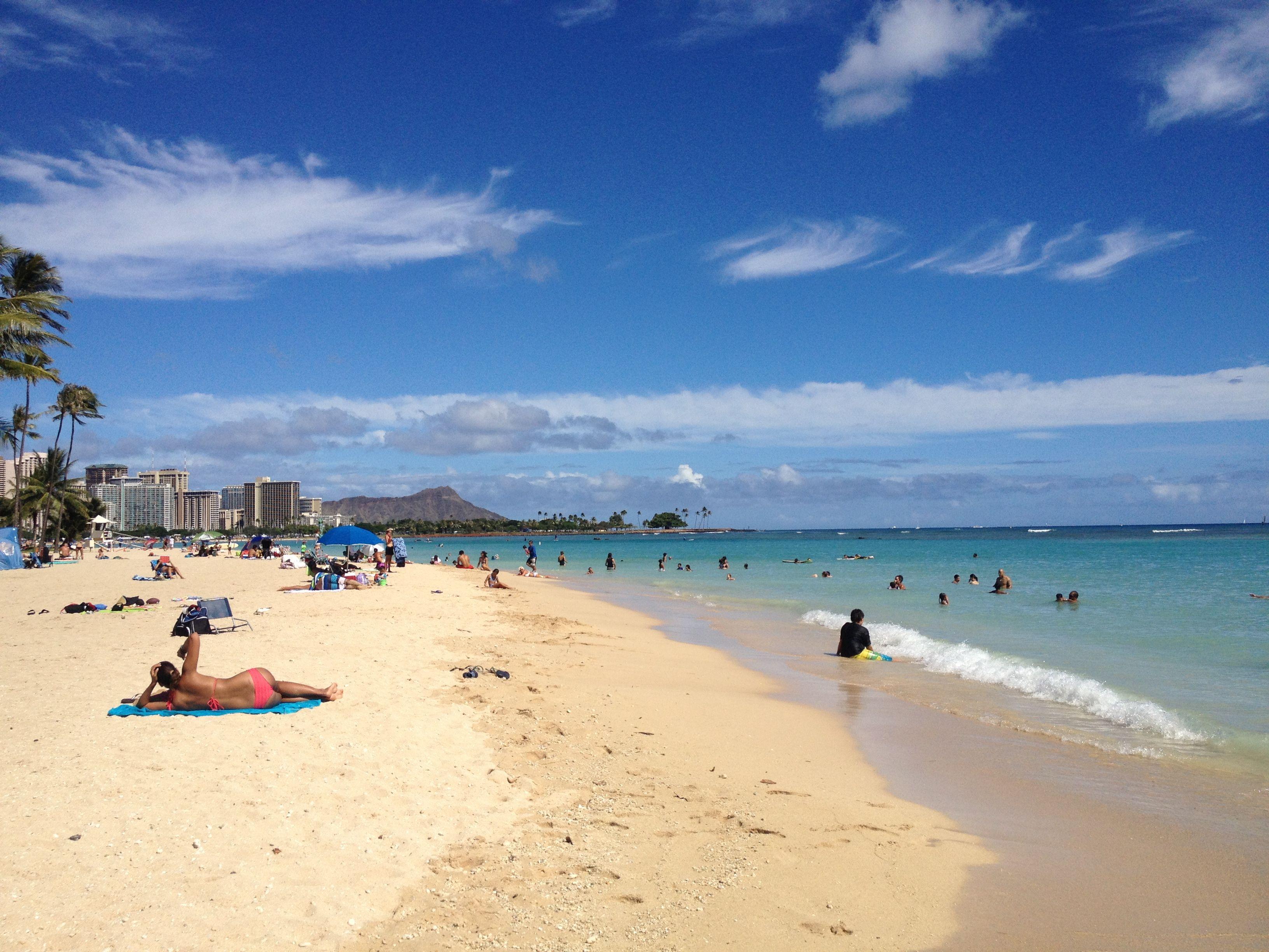 I love the beach! #alamoana #beach #hilife #hawaii