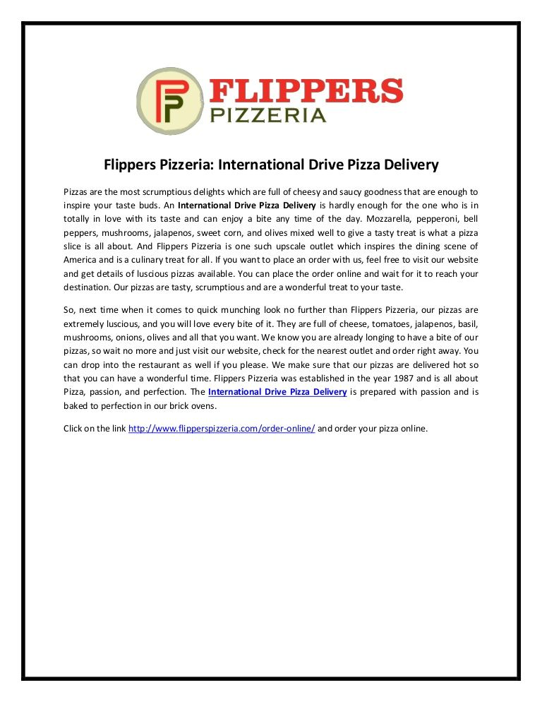 Pin by FlippersPizzeria on Orlando Discount Coupons
