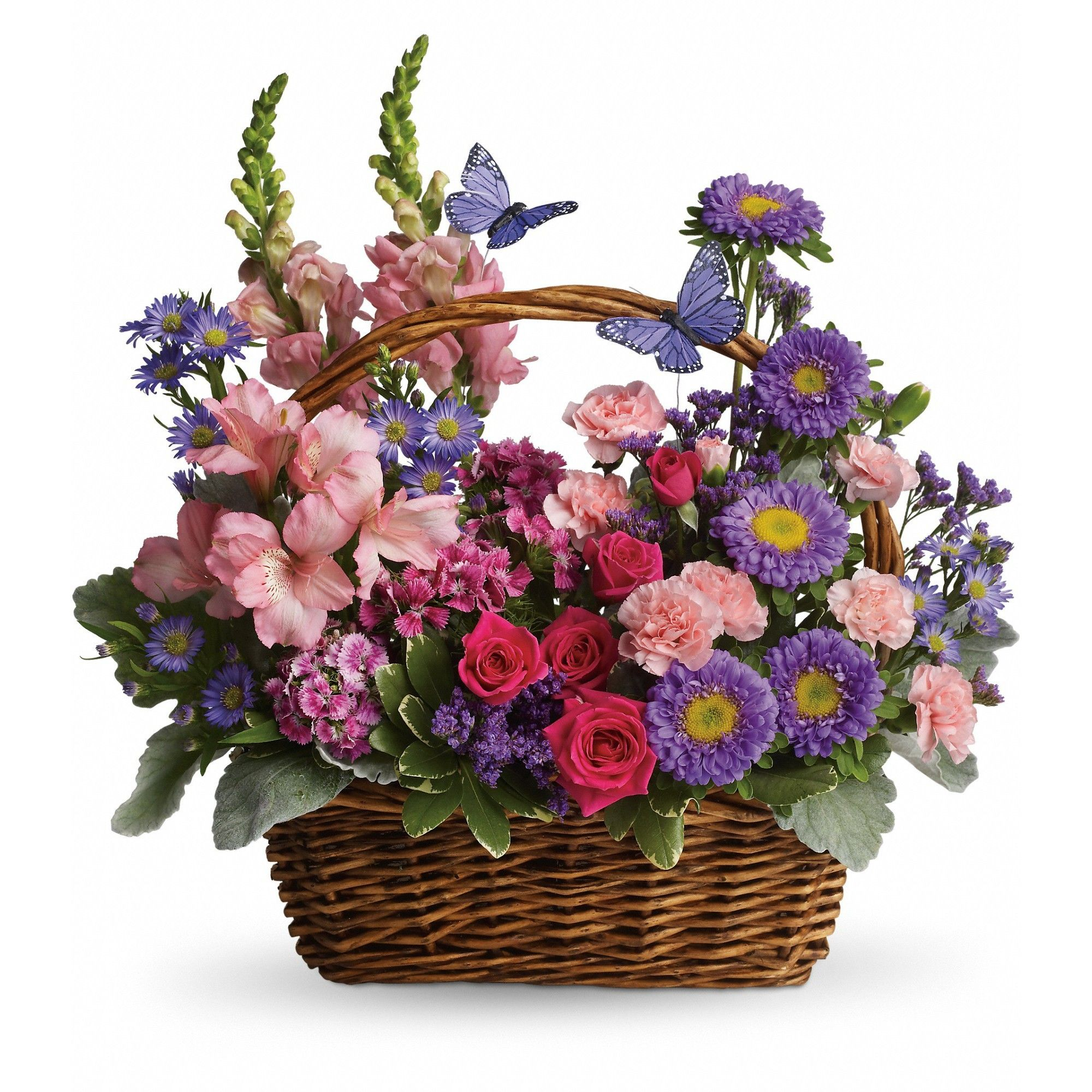 Country Basket Blooms by Teleflora in San Francisco, CA   Marina Floral Design
