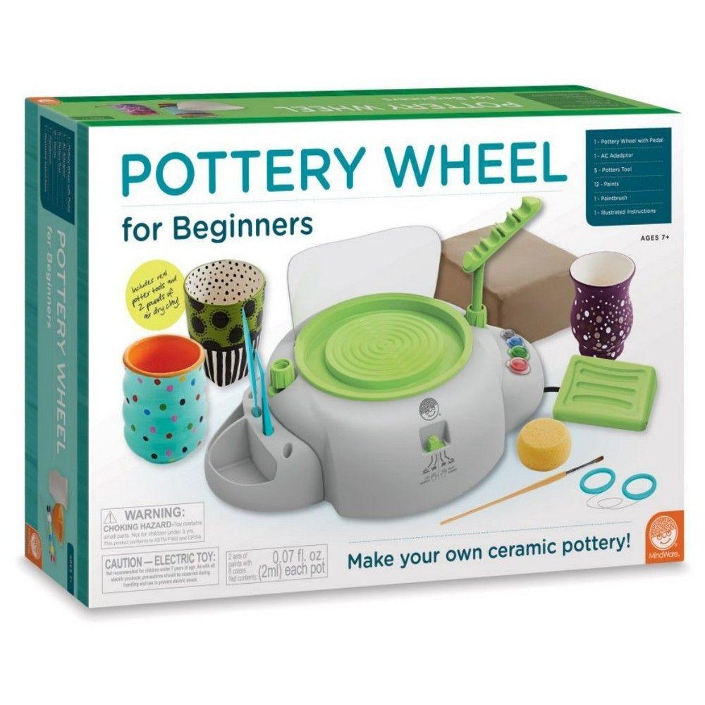 Mindware pottery wheel for beginners beginner pottery