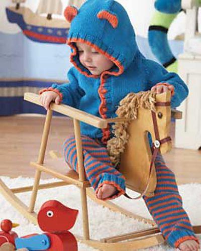 Lil\' Bear Hoodie & Leggings by Bernat Design Studio - free | Knits ...