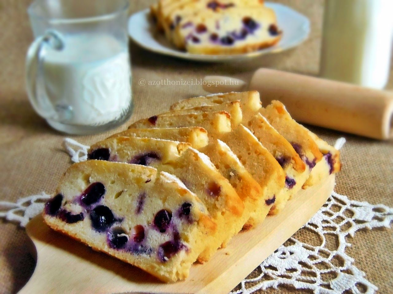 Citromos áfonyás kenyér