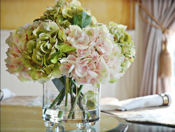 11 Faux Wedding Flowers That Look So Real Hydrangea