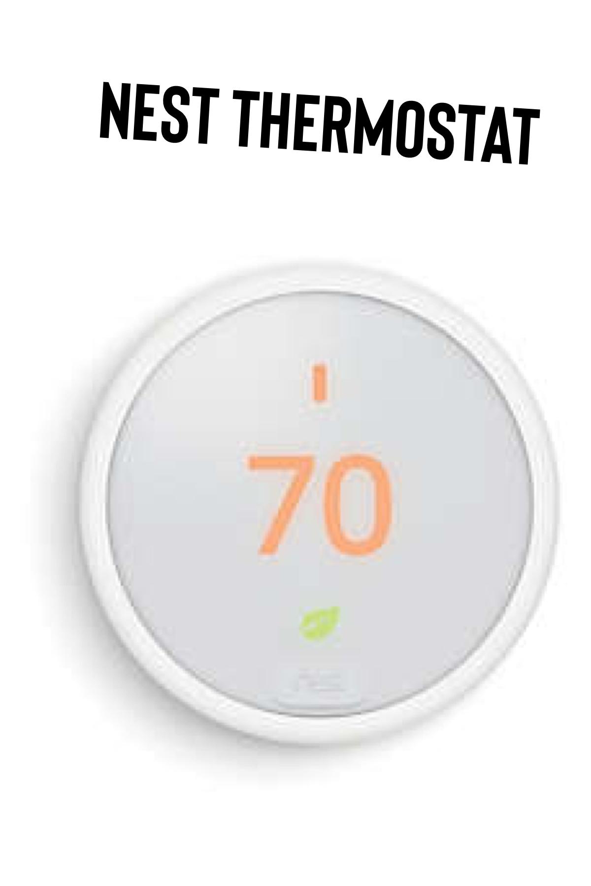 Google Nest Thermostat E In White Bed Bath Beyond Google Nest Thermostat Google Nest Nest Thermostat