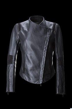 f9ccb62222db Women s leather jacket by Porsche Design
