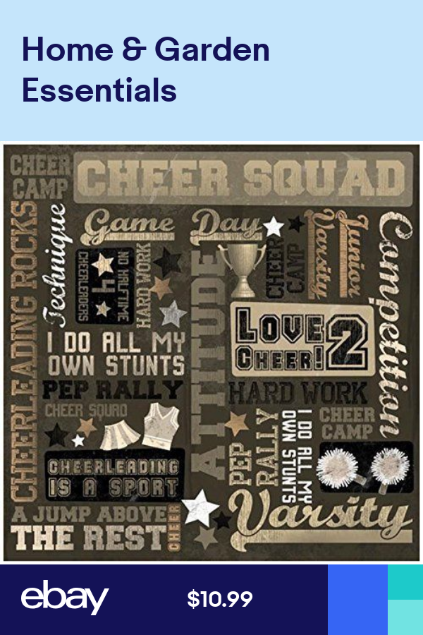 CUSTOM SCRAPBOOK PAPER SET CHEERLEADING CHEERLEADERS