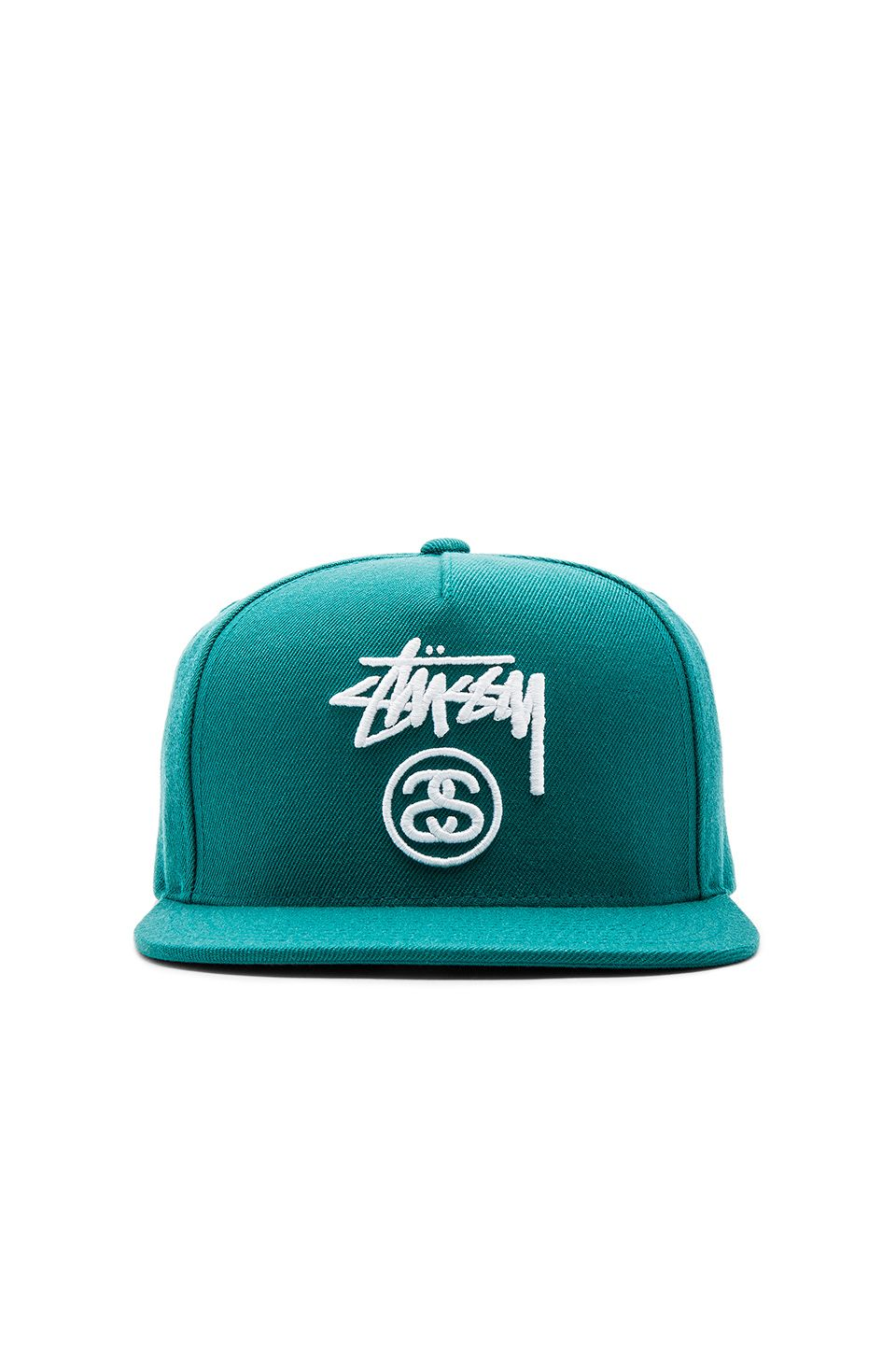97d014209a6 Stussy Stock Lock Hol 16 Snapback in Green