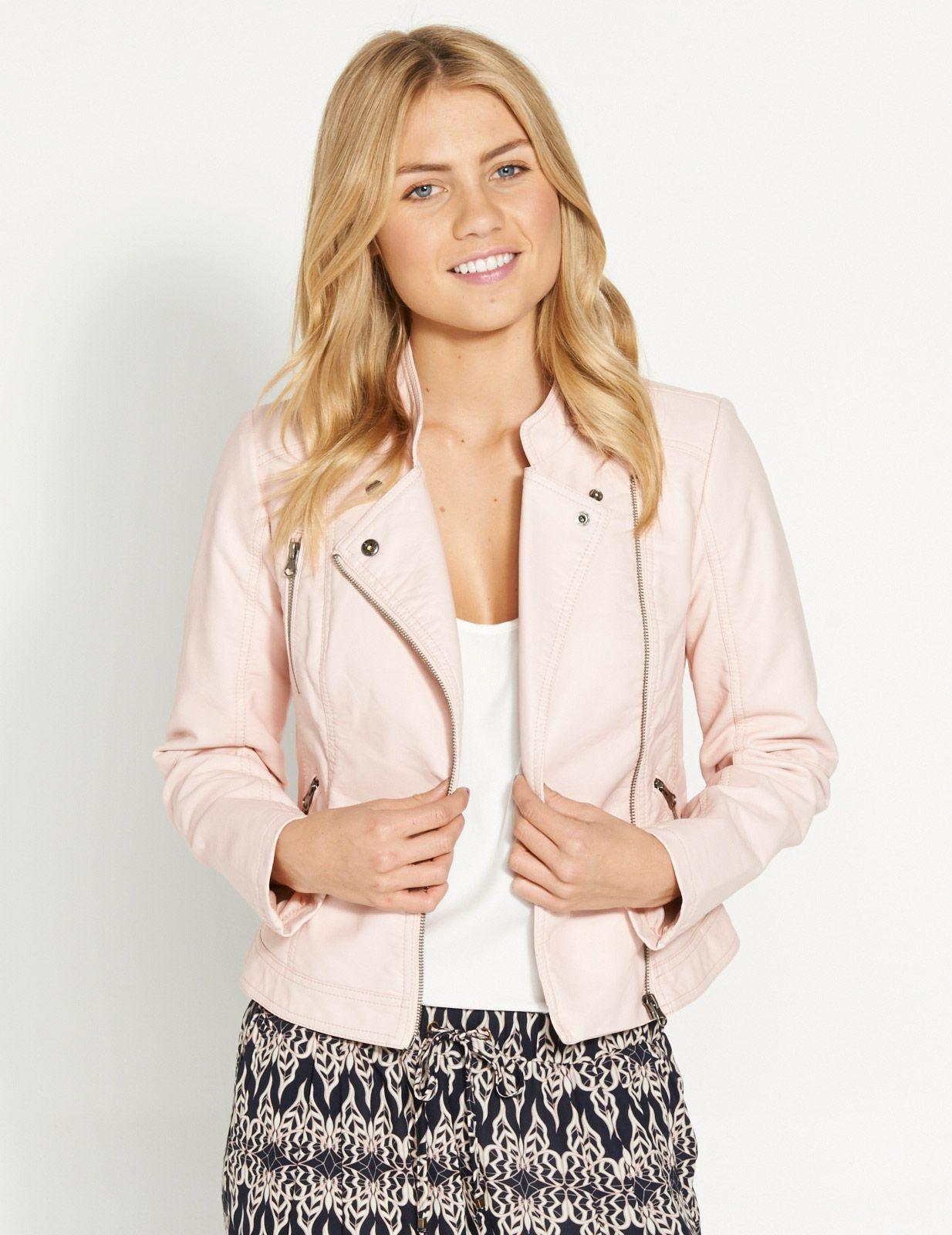 481c8c19f9 Candy Pu Jacket | Dotti | Dotti | Jackets, Pu jacket, Winter jackets ...