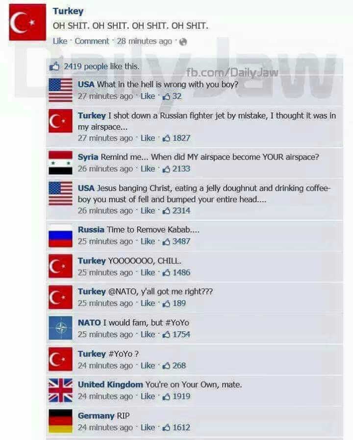 funny countries usa turkey syria russia nato uk germany