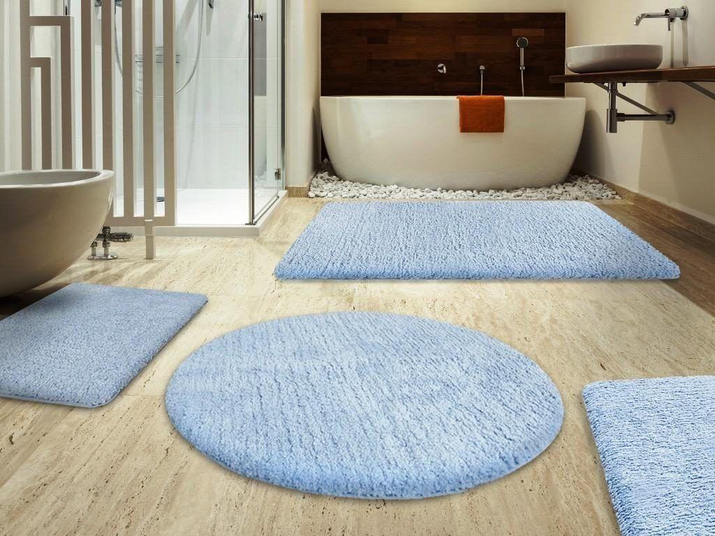 Foto Bagni Chiari : Big round bathroom rugs bath rugs & vanities pinterest