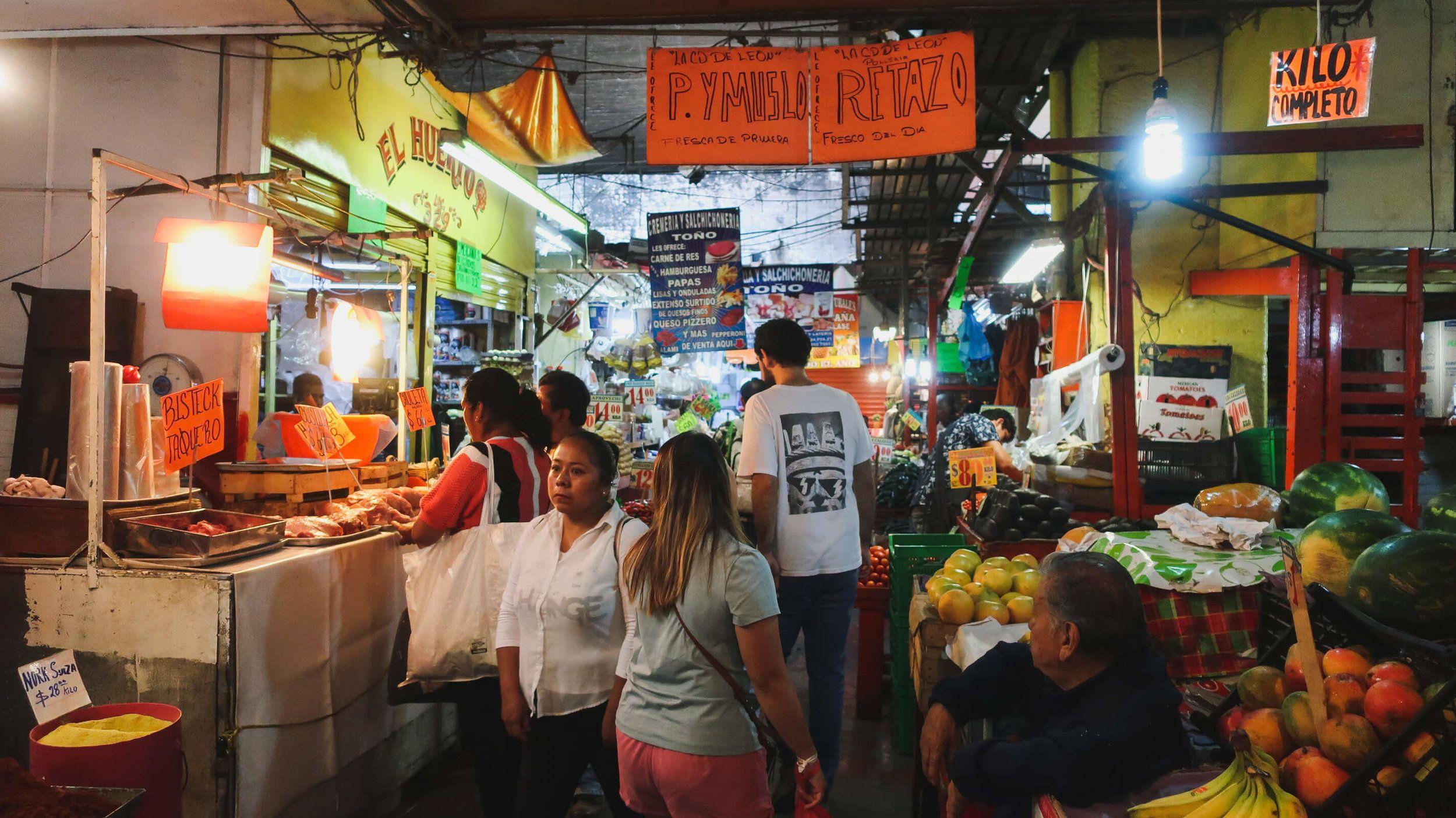 Explore La Merced Like A Local On A Mexico City Market Tour With