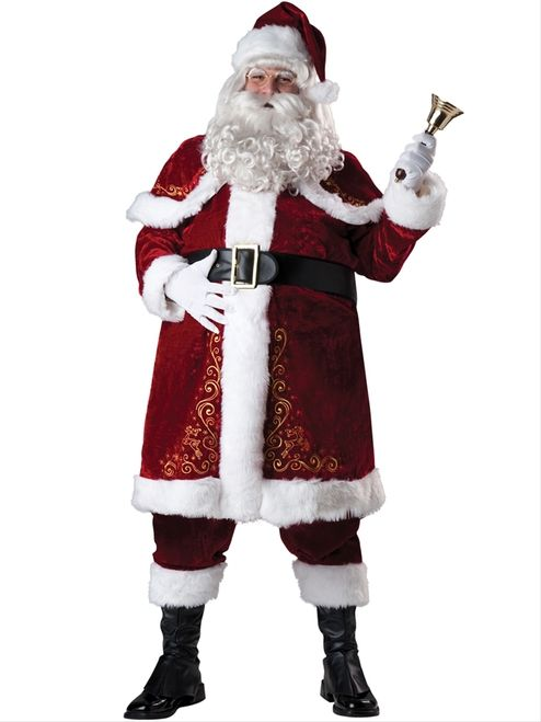 383f488d Plus Size Jolly Ol' St Nick Deluxe Holiday Costume - This whimsical Saint  Nicholas Costume is an essential part of your Christmas collection and will  build ...