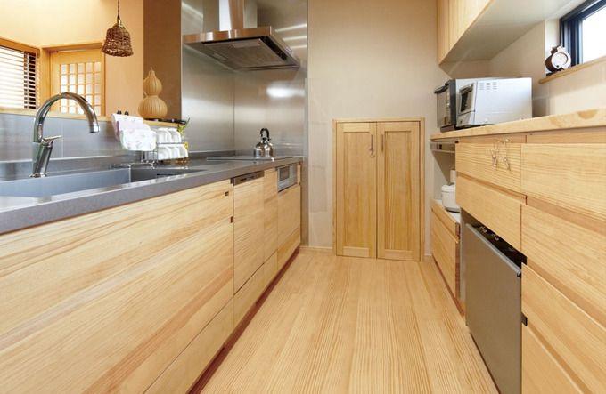 無垢材のキッチンならココ ウッドワンのsu Iji スイージー