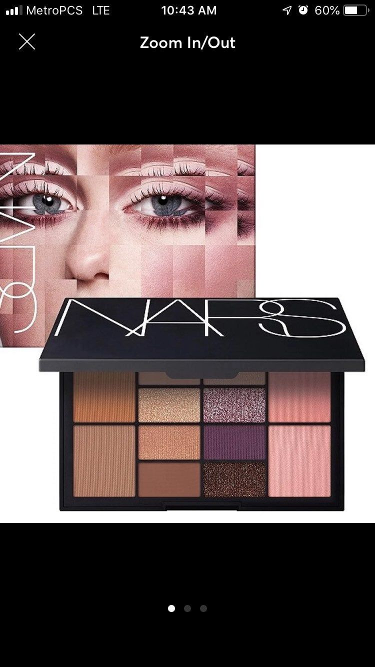 NARS Makeup Your Mind Eye & Cheek Palette. Condition is