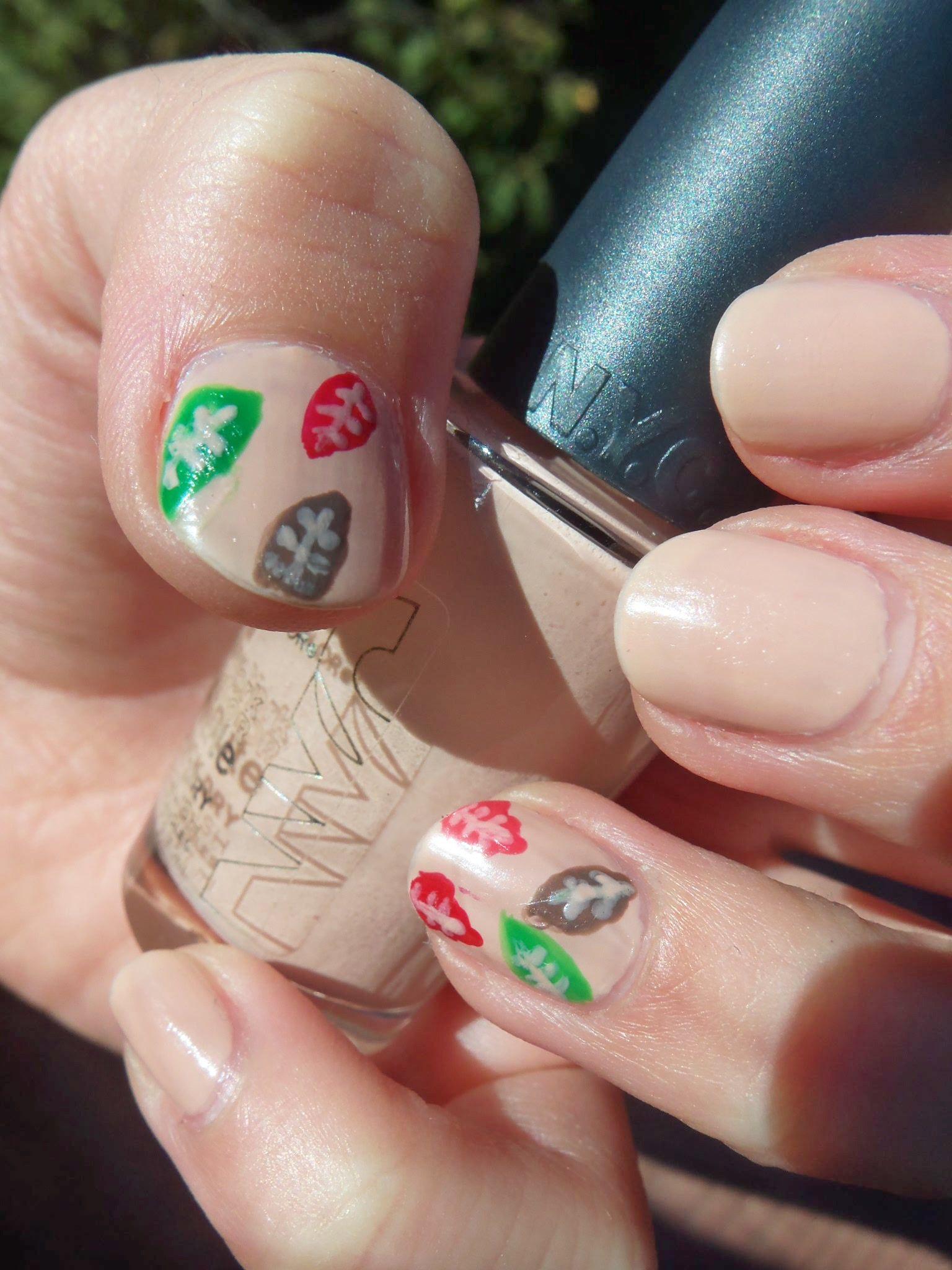 Fall Nails using NYC-Fashion Safari