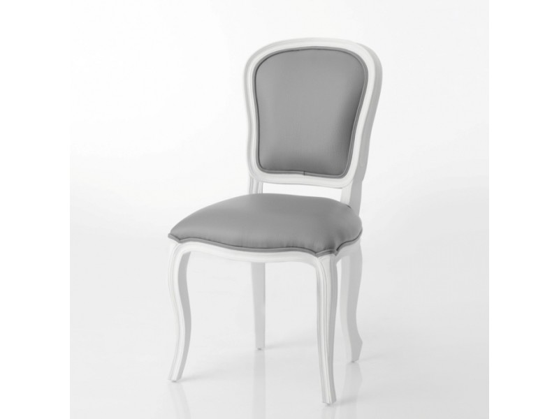 chaise grise et blanche murano