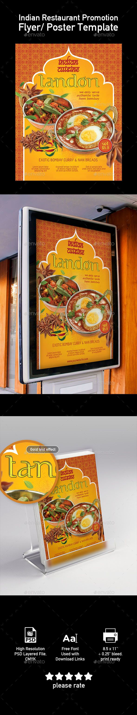 Template of India Food Restaurant Menu