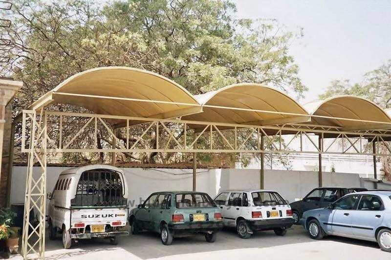 Fiberglass Shades Doms Canopy 55 Shed Design Car Parking