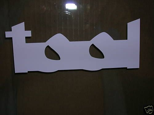 Tool band music decal sticker car truck windows