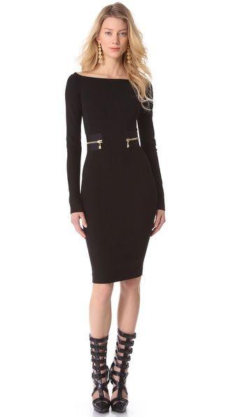 Versace Long Sleeve Dress..minus the shoes