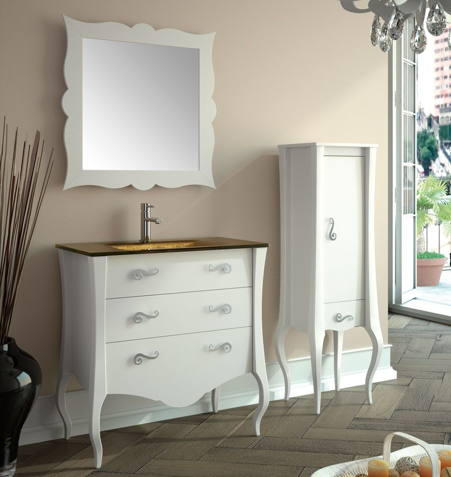 Bathroom Furniture Serie Maestro Maestro 800 White Inspirasjon  # Muebles Maestro