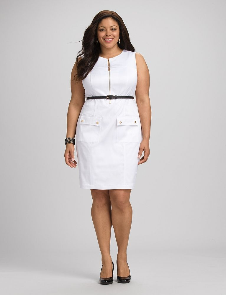 241e81f19c1e Great Plus-Size White Dresses