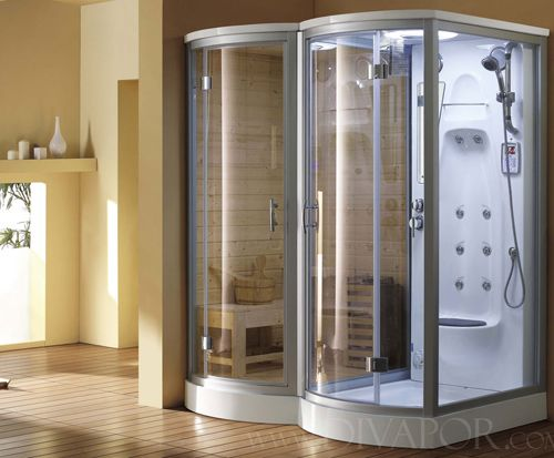 4 Blissful Steam Shower Sauna Combinations With Images Sauna