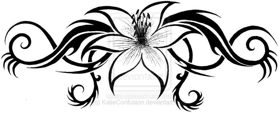 Lilly Tribal Tribal Rose Tribal Tattoo Designs Celtic Tattoos