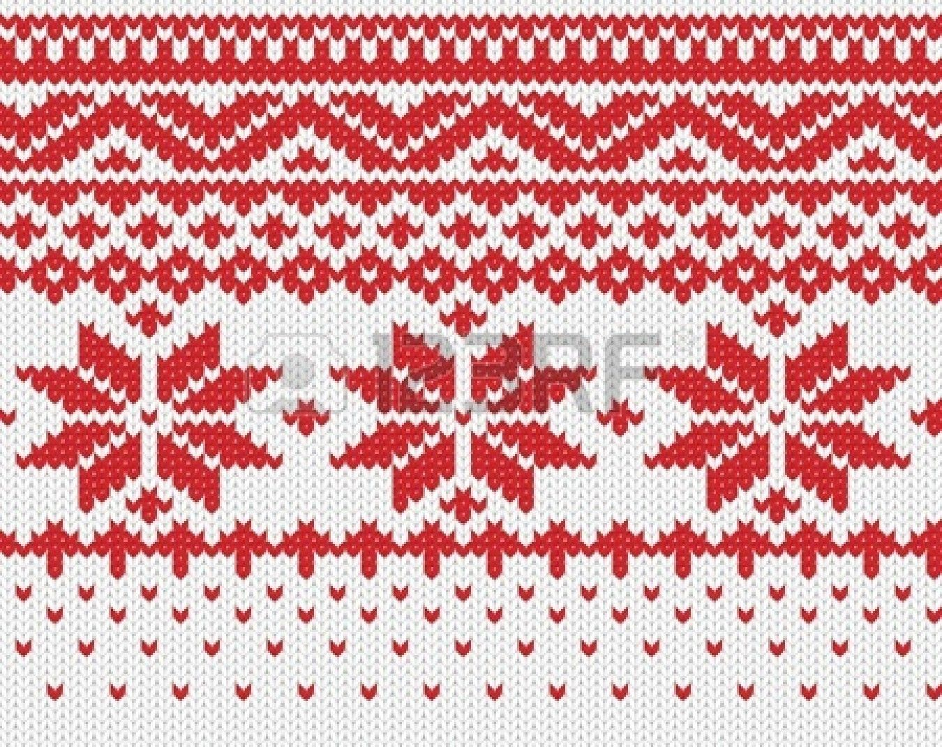 Stock Vector   Fair isle knitting patterns, Knitting, Fair ...