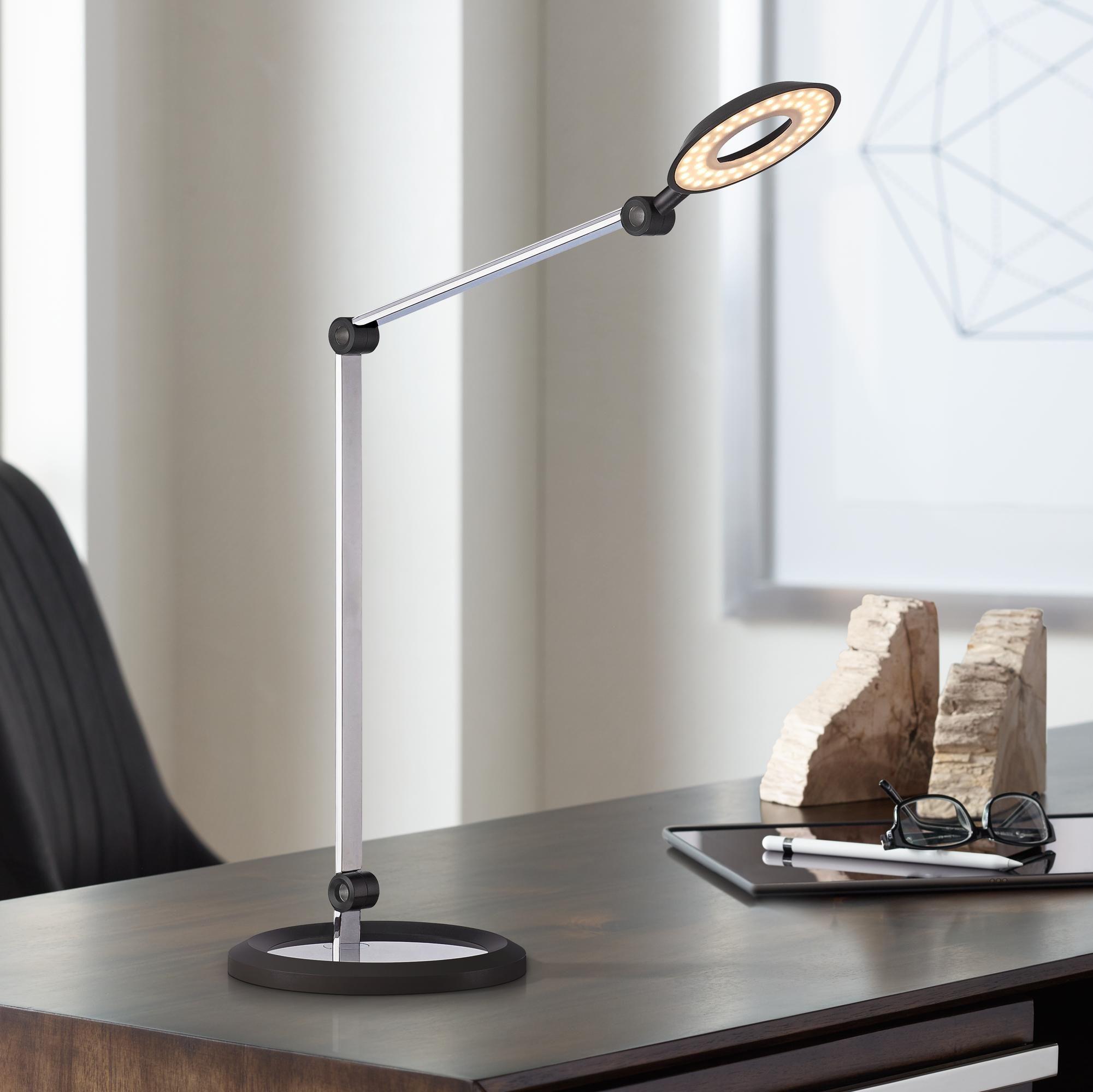 Desk Lamps George Kovacs Mason Chrome Led Desk Lamp In 2020 Desk Lamp Led Desk Lamp Desk Lamp Design