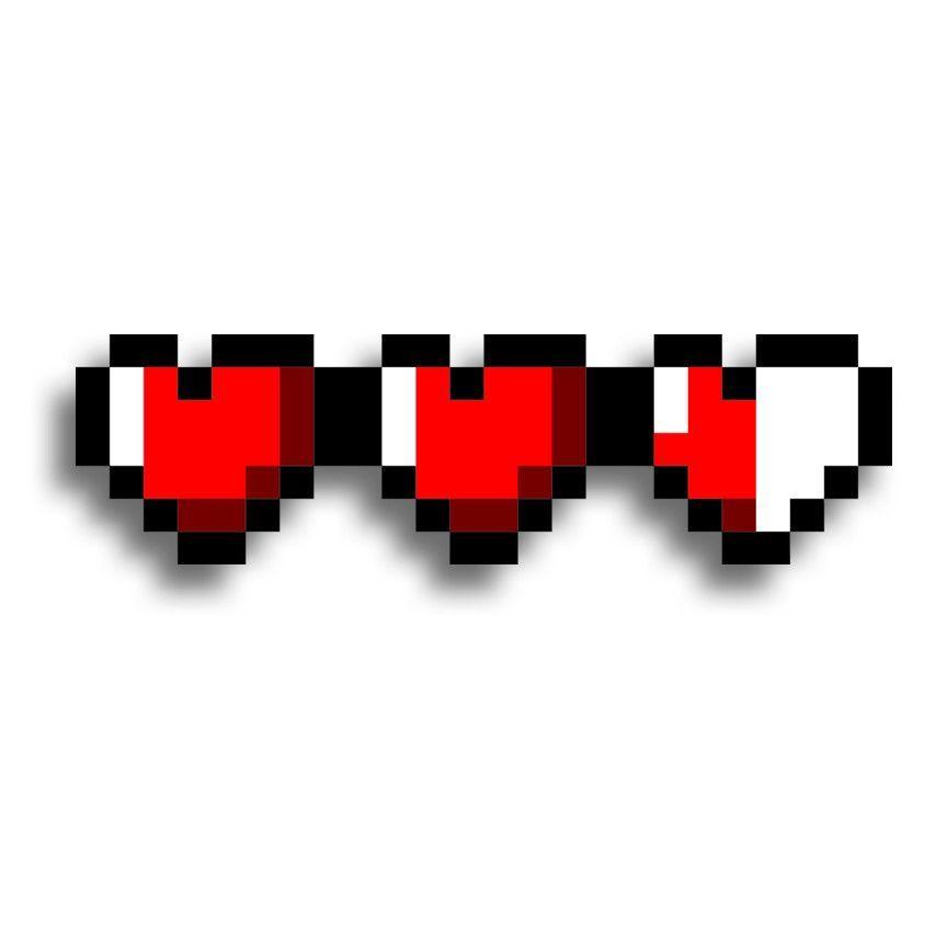 8 Bit Hearts Pixel Art Art Pixel Tattoo