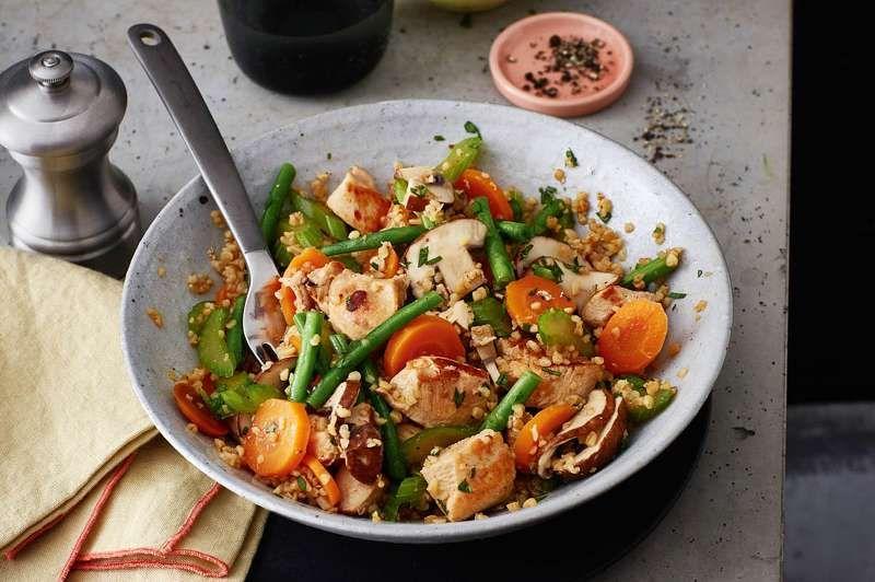 Hahnchen Bowl Rezept Mit Bildern Rezepte Resteverwertung Huhnchen Eiweissreiche Kost